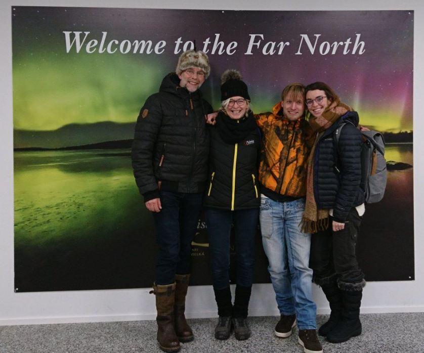 Groepsfoto Lapland reis