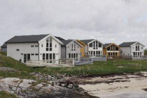 Hillesoya cabins in Noorwegen