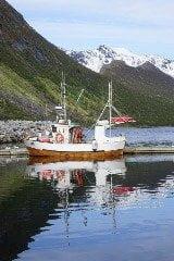 Vissersboot Gryllefjord Senja