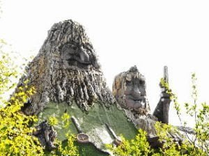 Senjatrollet op eiland Senja