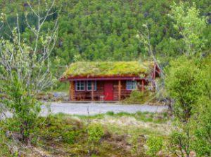 Fietsvakantie cabin in Bleik