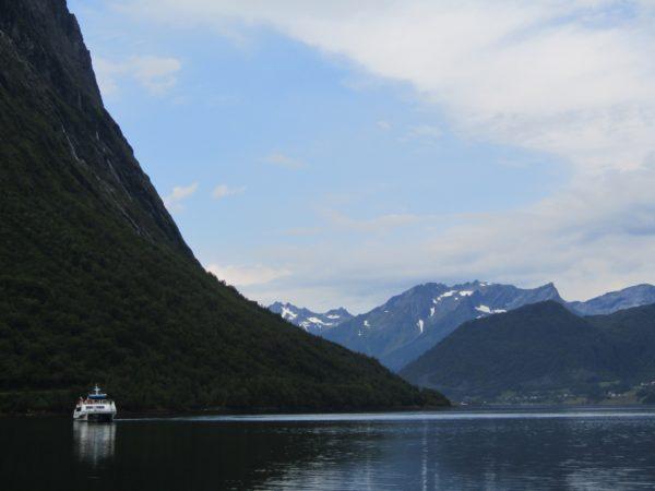 Hjørungfjord Noorwegen