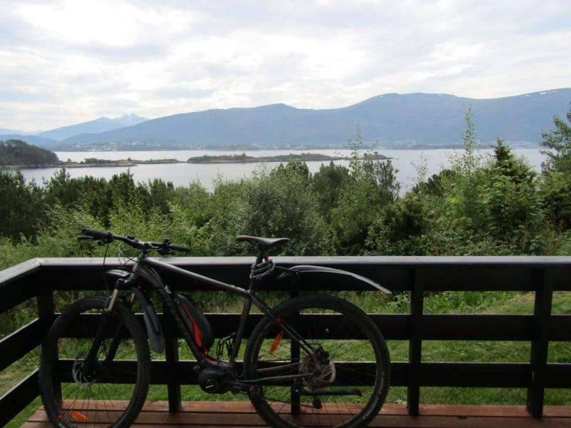 met e-bike op vakantie
