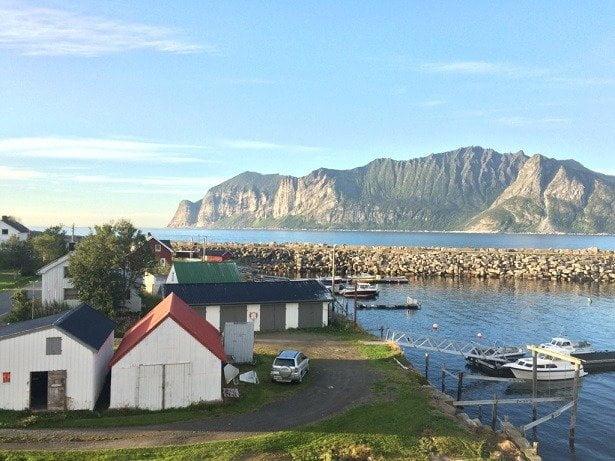 landschap fietstocht Noorwegen
