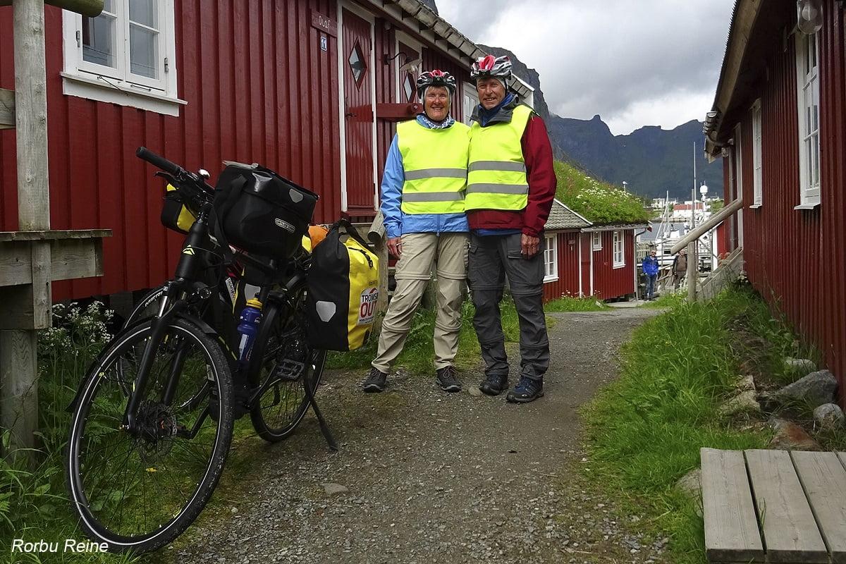 Fietsen in Noord Noorwegen