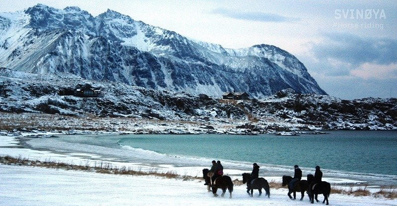 Paardentocht Noorwegen