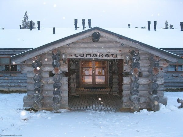 Rowhouse cabin Finland