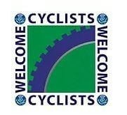 Cyclists welcome logo