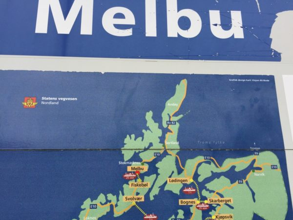 Kaart ferry Noorwegen