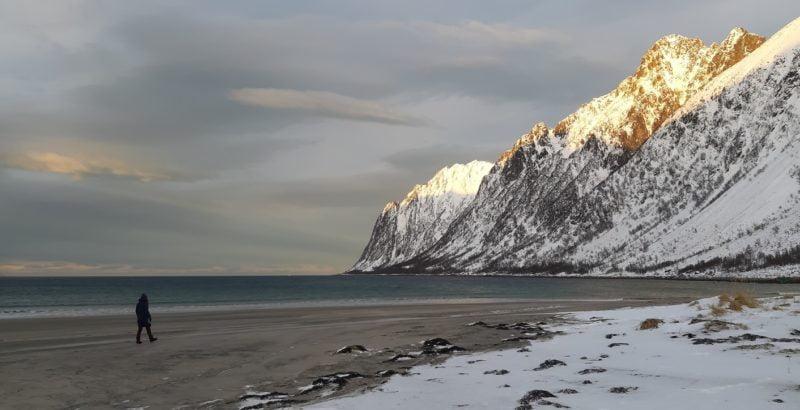 Ersfjord Senja Noorwegen