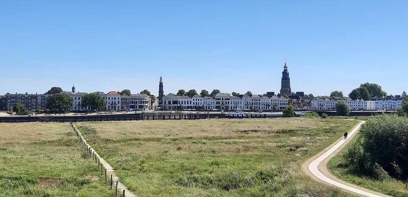Uitzicht over Zutphen
