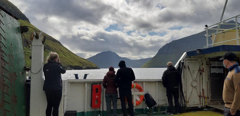 Ferry Faeroer eiland