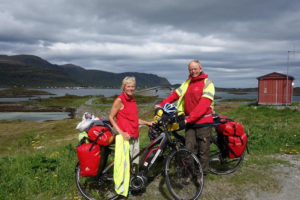 Reizigers Roel en Aartje in Noorwegen