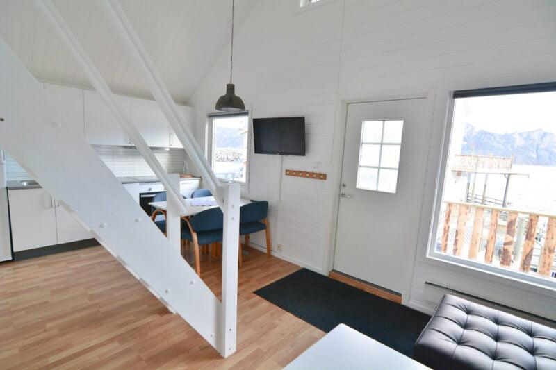 Cabin Mefjord binnen