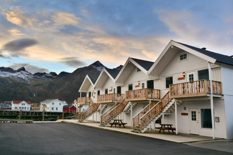 Cabins Mefjordbrygge