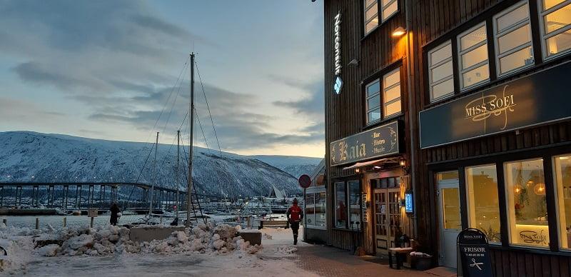 Tromso haven met eetcafe
