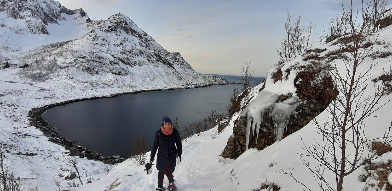 Sneeuwwandelen Senja